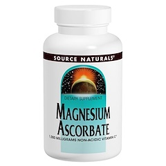 Source Naturals, Magnesium Ascorbate, 1000 mg, 120 Tablets