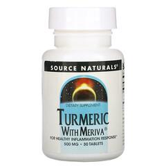 Source Naturals, 薑黃含 Meriva,500 毫克,30 片
