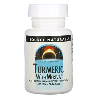 Source Naturals, Turmeric with Meriva, 500 mg, 30 Tablets