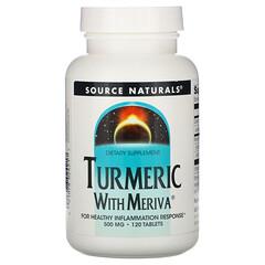 Source Naturals, Meriva薑黃複合物,500 毫克,120片