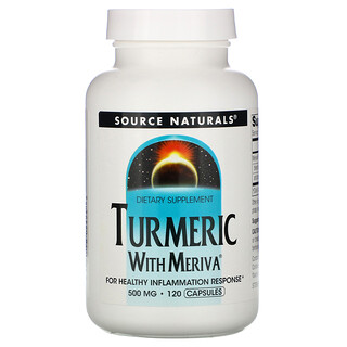 Source Naturals, Meriva Turmeric Complex, 500 mg, 120 Capsules