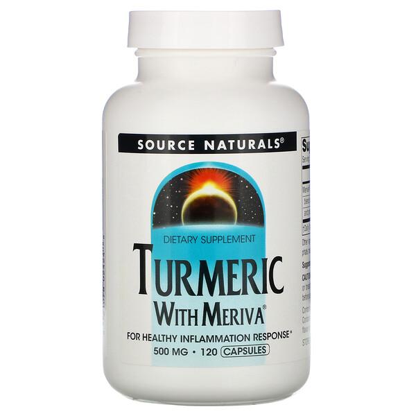 Meriva Turmeric Complex, 500 mg, 120 Capsules