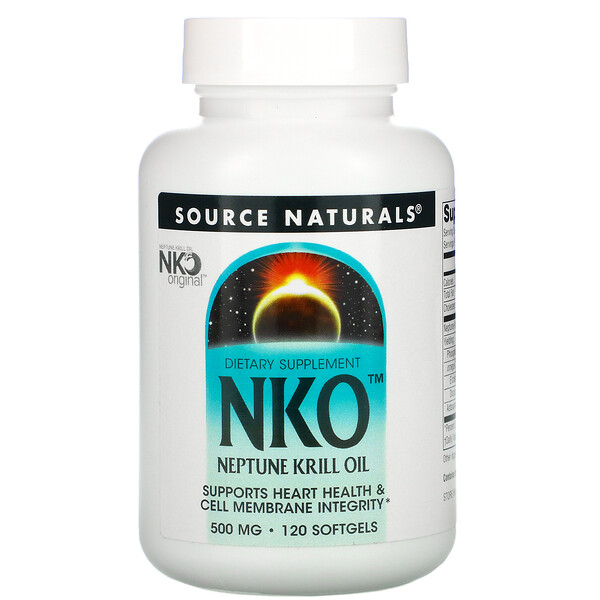 NKO, Neptune Krill Oil, 500 mg, 120 Softgels