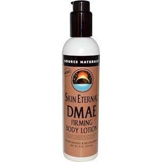 Source Naturals, Skin Eternal, DMAE Firming Body Lotion, Light Green Tea Scent, 8 oz (237 ml)