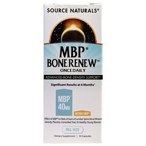 Сорс Начэралс, MBP Bone Renew, Once Daily, 30 Capsules отзывы