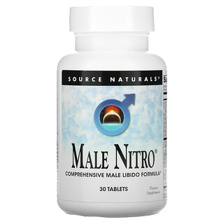 Source Naturals, Male Nitro, 30 Tablets