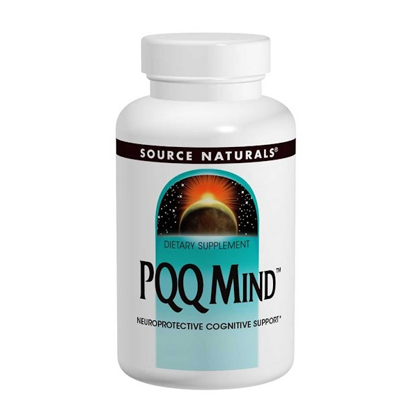 Source Naturals, PQQ Mind, 60 Tablets