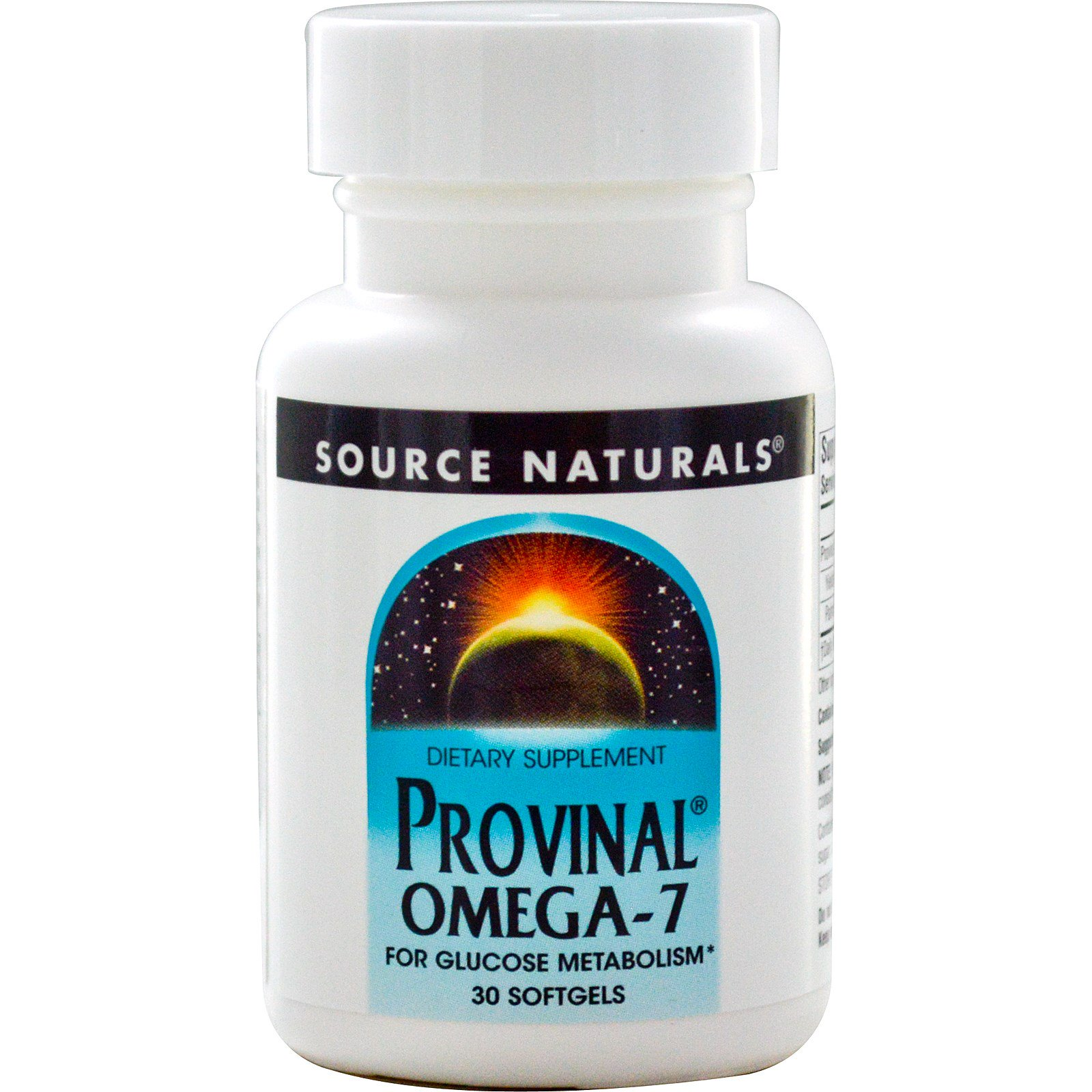 Source Naturals, Provinal Омега-7, 30 капсул