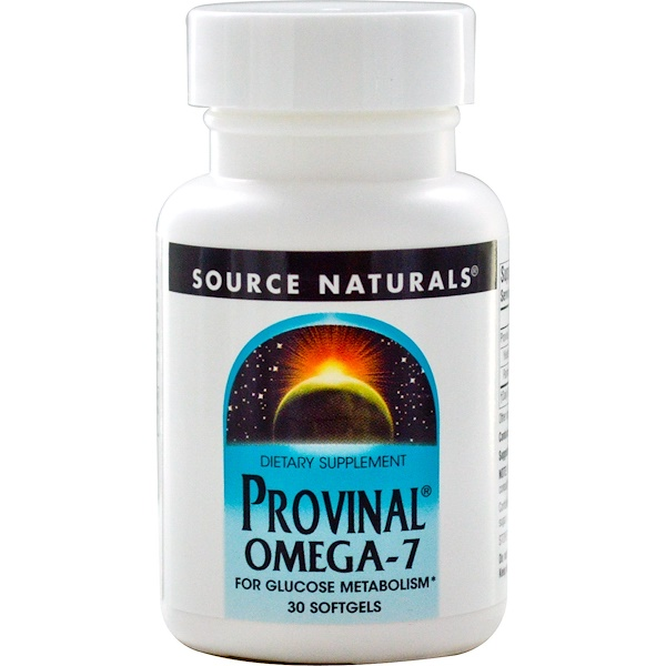 Source Naturals, Provinal Omega-7, 30 Softgels