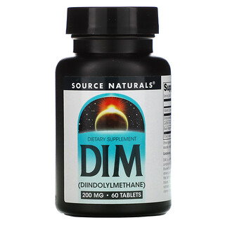 Source Naturals, DIM,200 毫克,60 片