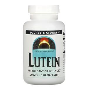 Сорс Начэралс, Lutein, 20 mg, 120 Capsules отзывы