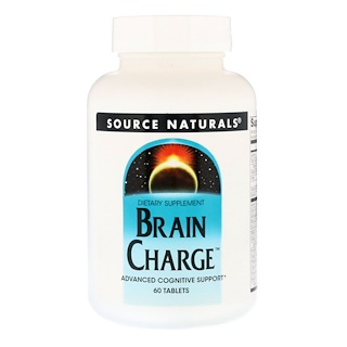 Source Naturals, Brain Charge, 60 Tablets