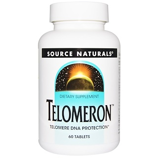 Source Naturals, Telomeron, 60 Tablets