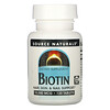 Source Naturals, Biotin, 10,000 mcg, 120 Tablets