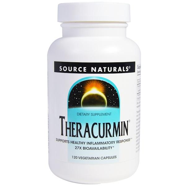 Source Naturals, Thercurmin, 120 Veggie Caps (Discontinued Item)