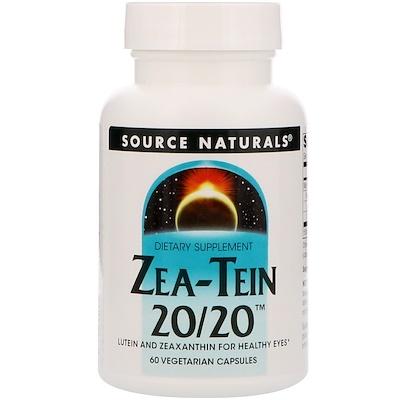 Zea-Tein 20/20, 60 вегетарианских капсул gastro guardian 60 вегетарианских капсул