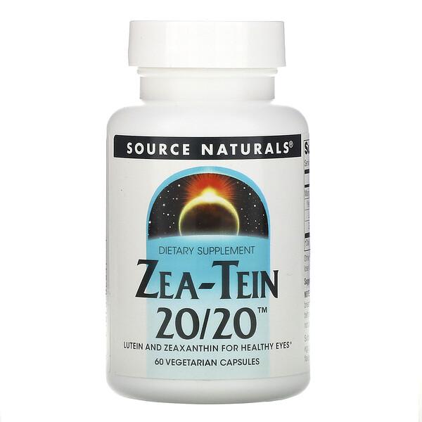 Source Naturals, زي تيم 20/20، 60 كبسولة نباتية