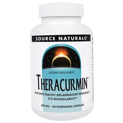 Купить Source Naturals Theracurmin, 600 mg, 60 Vegetarian Capsules