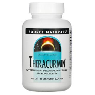 Source Naturals, Theracurmin,600мг, 60вегетарианских капсул