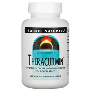Сорс Начэралс, Theracurmin, 600 mg, 60 Vegetarian Capsules отзывы