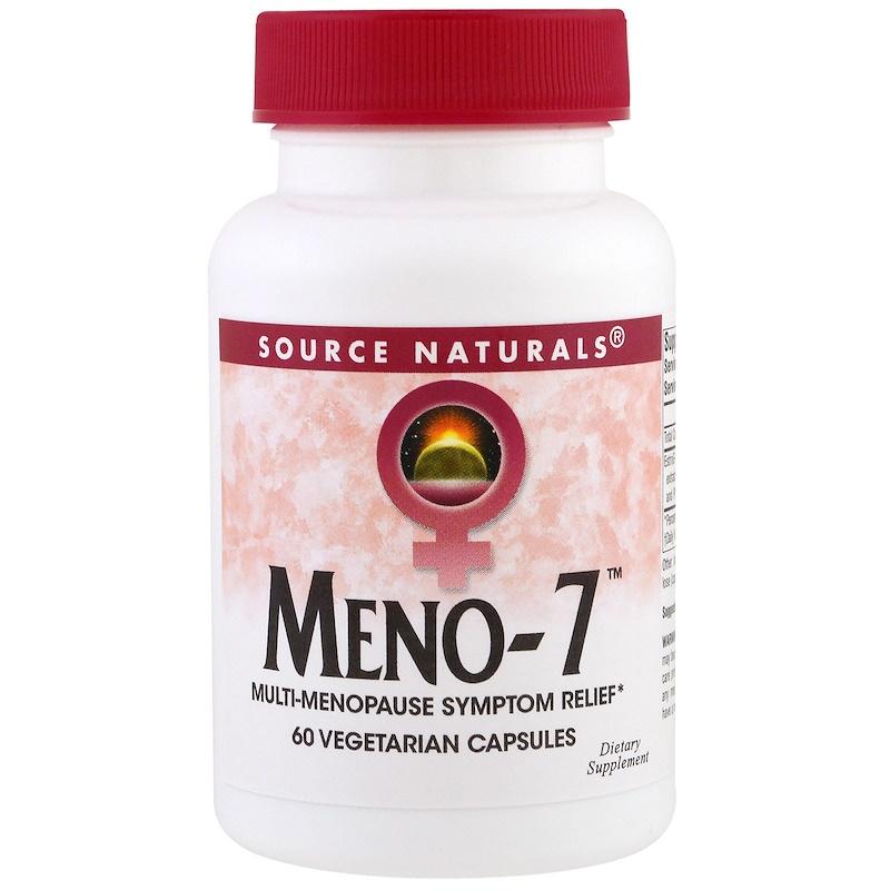 Meno-7, 60 Veggie Capsules