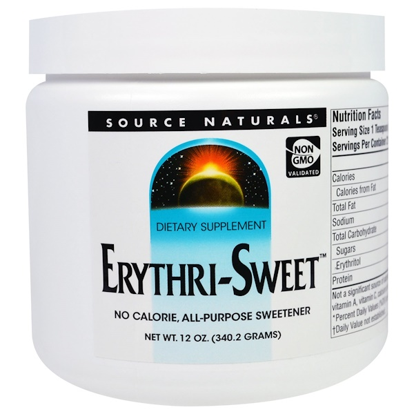 Source Naturals, Erythri-Sweet, 12 oz (340.2 g) (Discontinued Item)