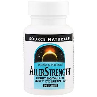 Source Naturals, AllerStrength、60錠