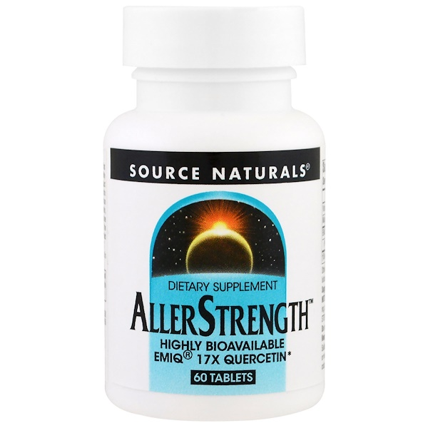 Source Naturals, AllerStrength, 60 таблеток