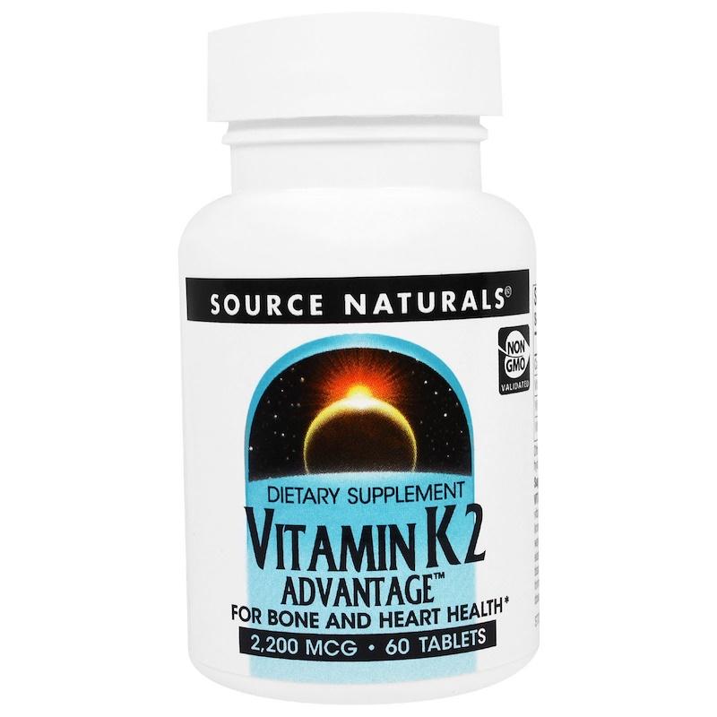 Vitamin K2 Advantage, 2,200 mcg, 60 Tablets