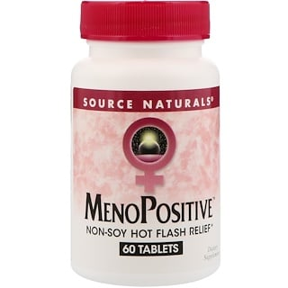 Source Naturals, MenoPositive, 60 Tablets