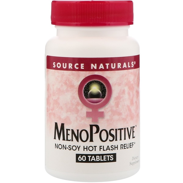 Source Naturals, MenoPositive, 60 Tablets (Discontinued Item)