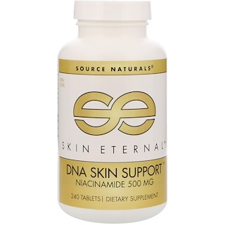 Source Naturals, Skin Eternal, DNA Skin Support, 500 mg, 240 Tablets