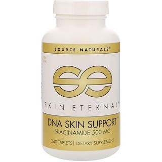 Source Naturals, スキンエターナル、、DNAスキンサポート、500 mg、240錠