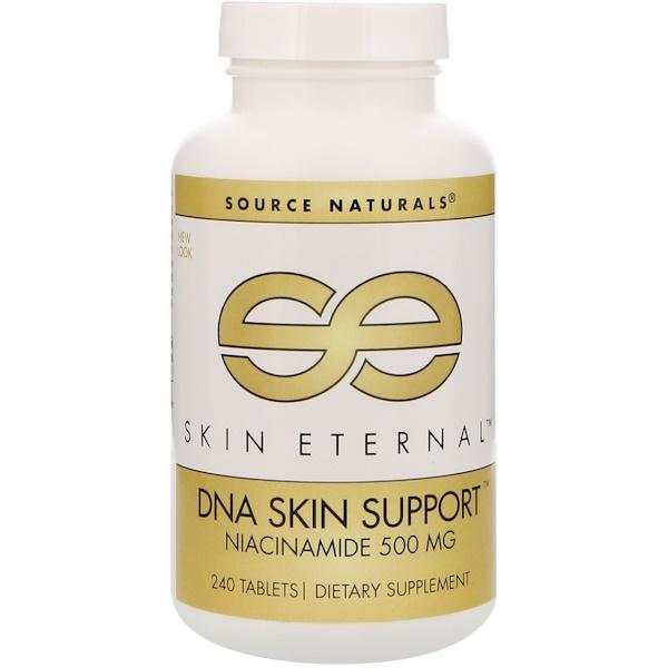 Source Naturals, Skin Eternal,DNA Skin Support,500毫克,240片