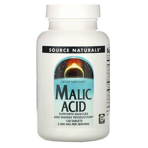 Сорс Начэралс, Malic Acid, 2,500 mg , 120 Tablets отзывы