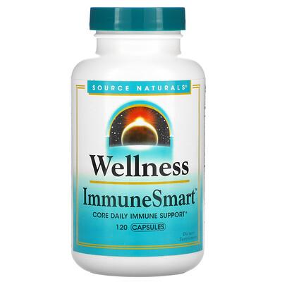 Купить Source Naturals Wellness ImmuneSmart, 120 Capsules