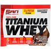 SAN Nutrition, 100%ピュアチタンホエイ、チョコレートロッキーロード、1.07 oz (30.24 g)