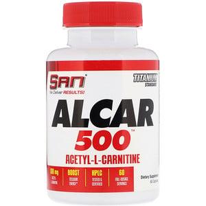 Сан нутришэн, ALCAR 500, Acetyl-L-Carnitine, 60 Capsules отзывы