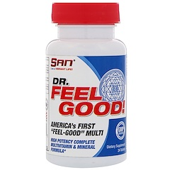 SAN Nutrition, Dr. Feelgood, multivitaminas, 24 tabletas