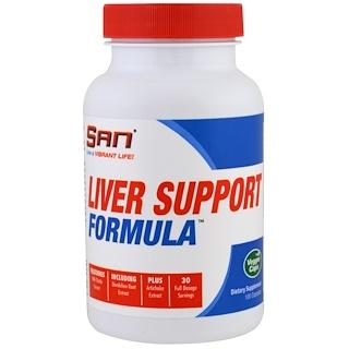 SAN Nutrition, リバーサポートフォーミュラ, 100植物カプセル