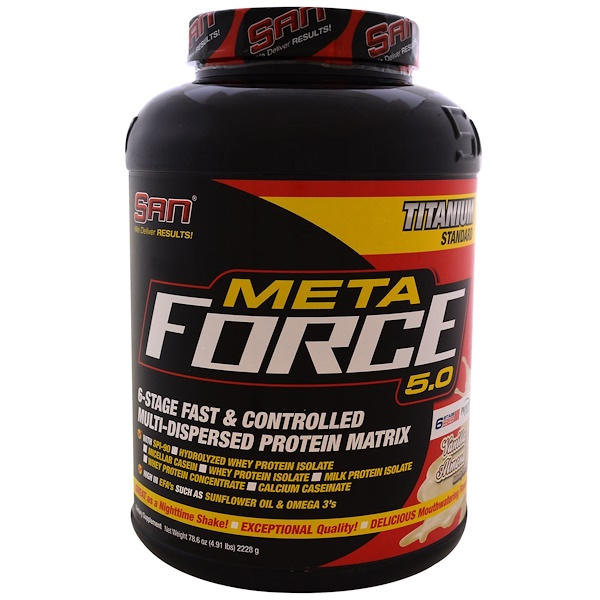 Metaforce 5.0, Vanilla Almond, 4.9 lb (2228 g)