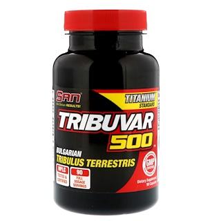 SAN Nutrition, Tribuvar 500, 90 Capsules