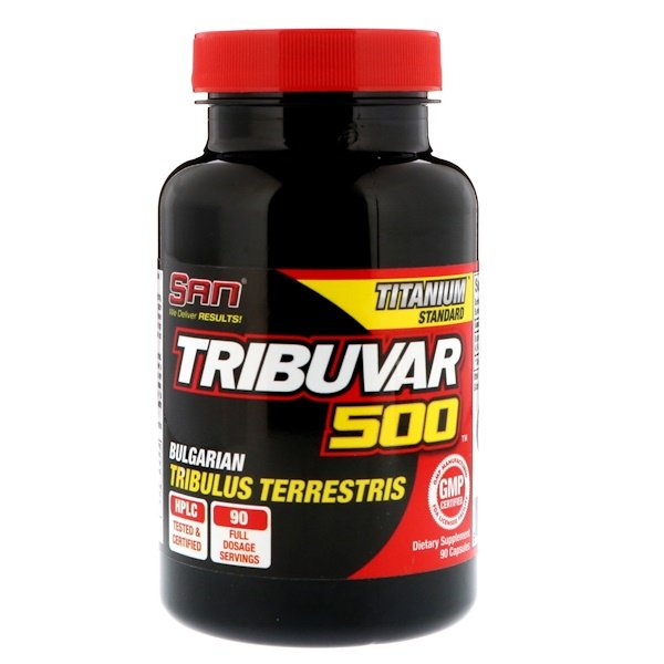 SAN Nutrition, Tribuvar 500 ، 90 كبسولة (Discontinued Item)