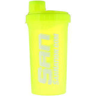 SAN Nutrition, Coqueteleira, Amarelo Neon, 24 oz (709 ml)