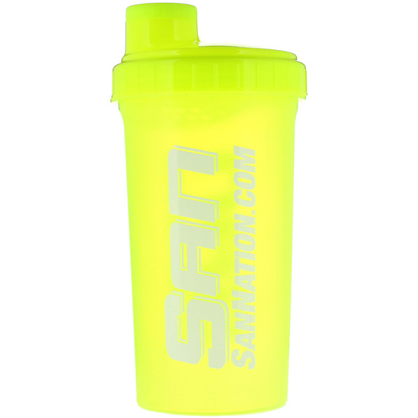 SAN Nutrition, Shaker Cup, Neongelb, 24 oz (Discontinued Item)