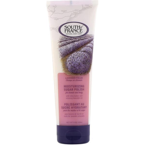 Moisturizing Sugar Polish, Lavender Fields, 8 oz (226 g)