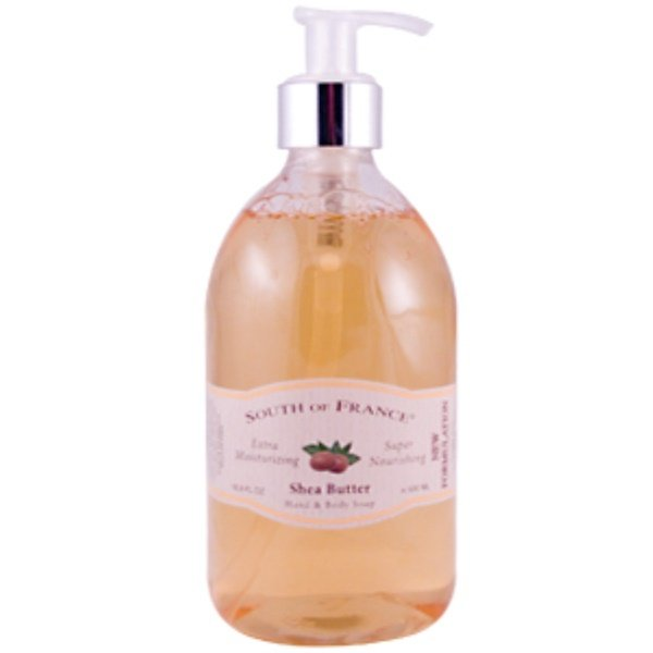 South of France, Shea Butter Hand & Body Soap, 16.9 fl oz (500 ml) (Discontinued Item)