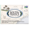 South of France, Cote D' Azur, French Milled Bar Soap with Organic Shea Butter, 6 oz (170 g)