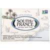 South of France, 藍色海岸有機乳木果法式手工研磨香皂,6 盎司(170 克)