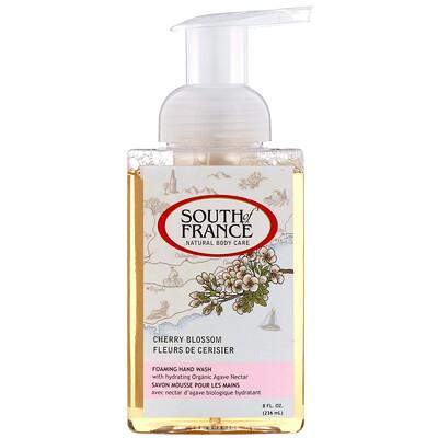 Купить South of France Пенящееся мыло для рук, с запахом вишневого цвета, 236мл